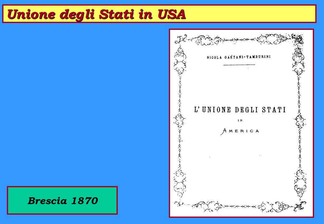 Il Cittadino e lo Stato Milano 1869