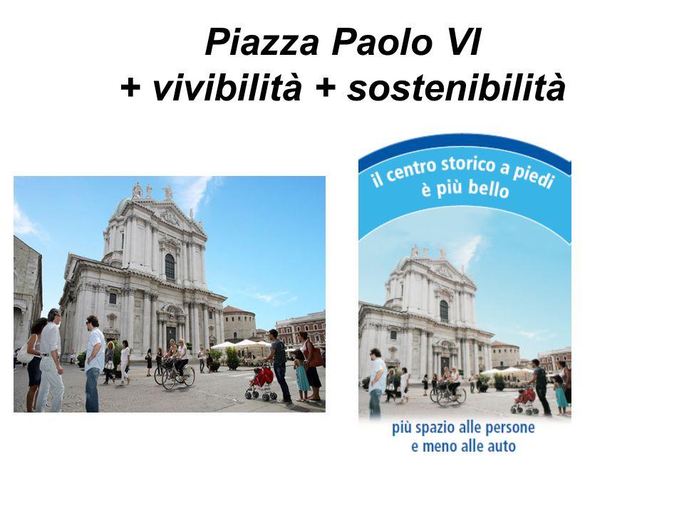 Piazza Paolo VI - prima Riquadro NORD N.