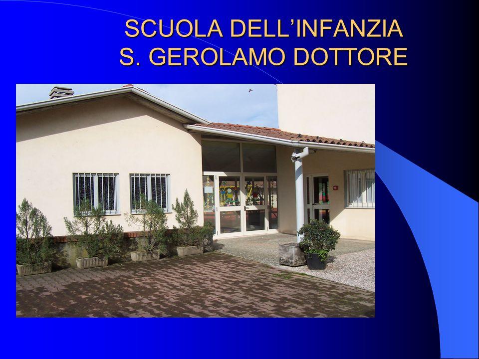 SCUOLA DELLINFANZIA S. GEROLAMO DOTTORE