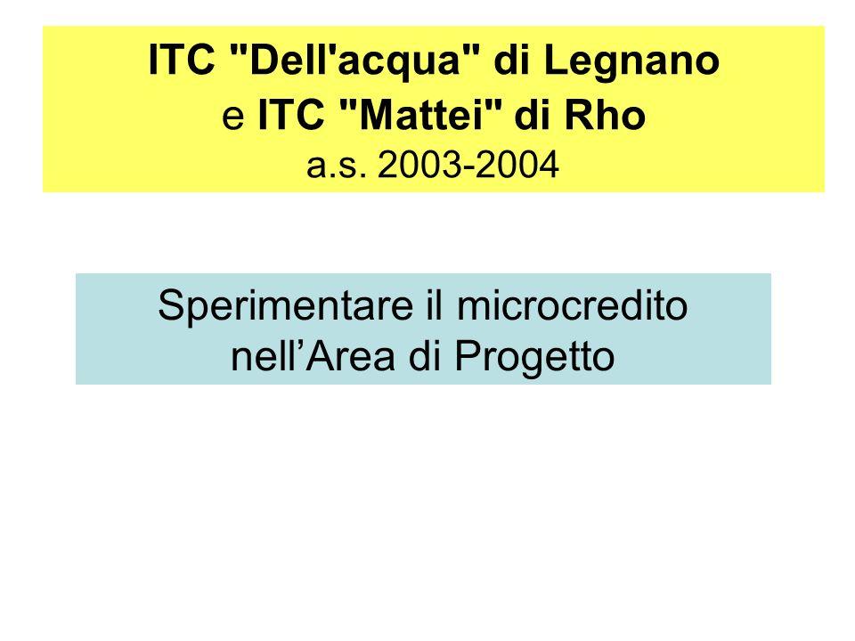 ITC Dell acqua di Legnano e ITC Mattei di Rho a.s.
