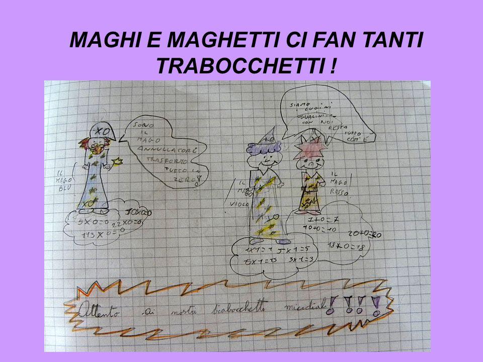 MAGHI E MAGHETTI CI FAN TANTI TRABOCCHETTI !