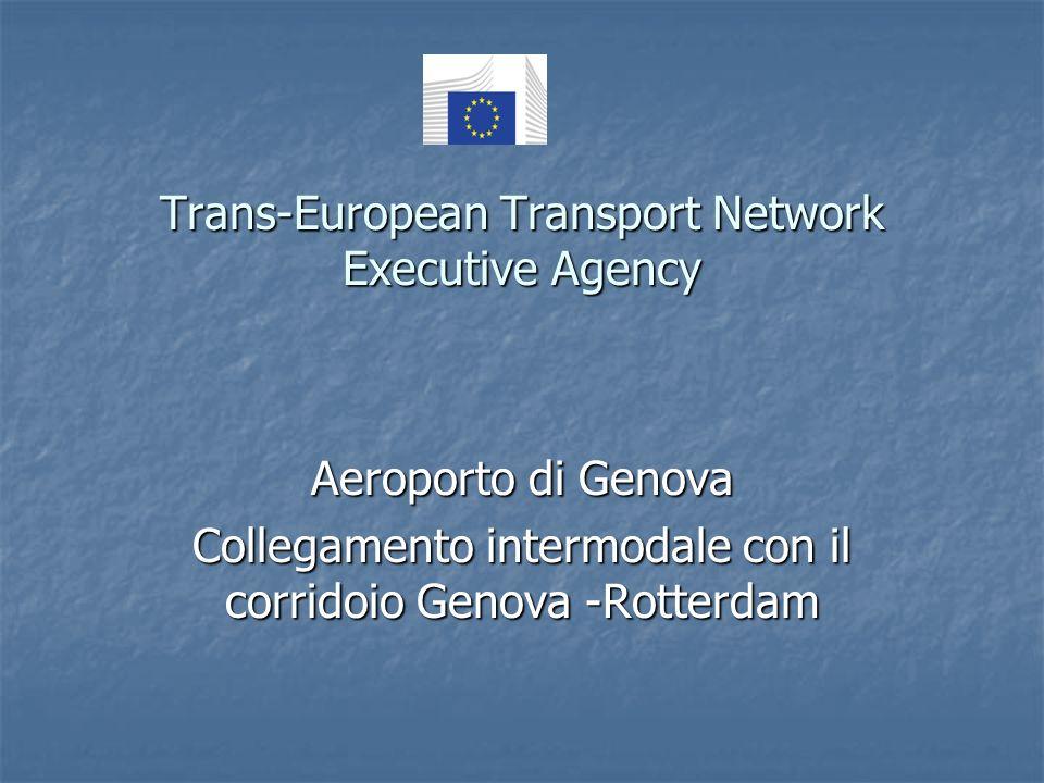 Trans-European Transport Network Executive Agency Aeroporto di Genova Collegamento intermodale con il corridoio Genova -Rotterdam