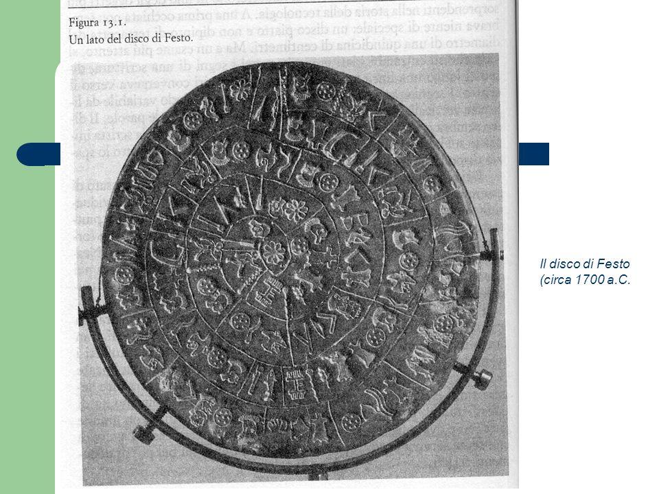 Il disco di Festo (circa 1700 a.C.