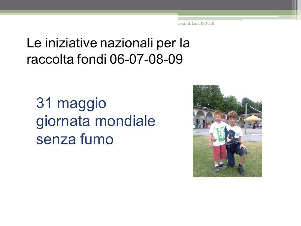 Le iniziative nazionali per la prevenzione 06-07-08-09 Campagna nazionale Nastro Rosa a cura di Lucia De Ponti