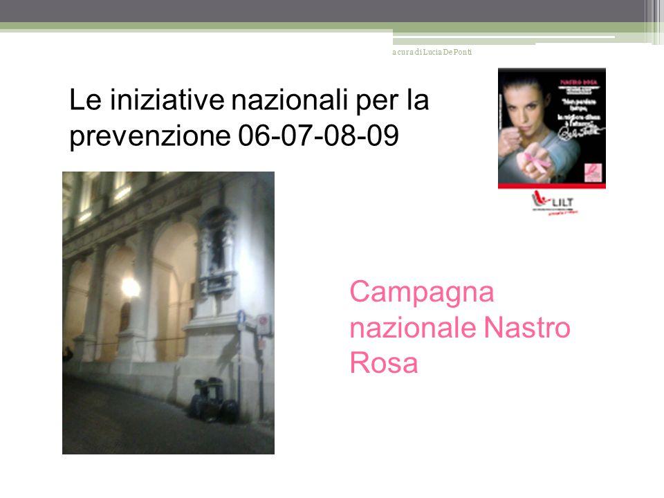 I progetti 2010 Nabruka a cura di Lucia De Ponti