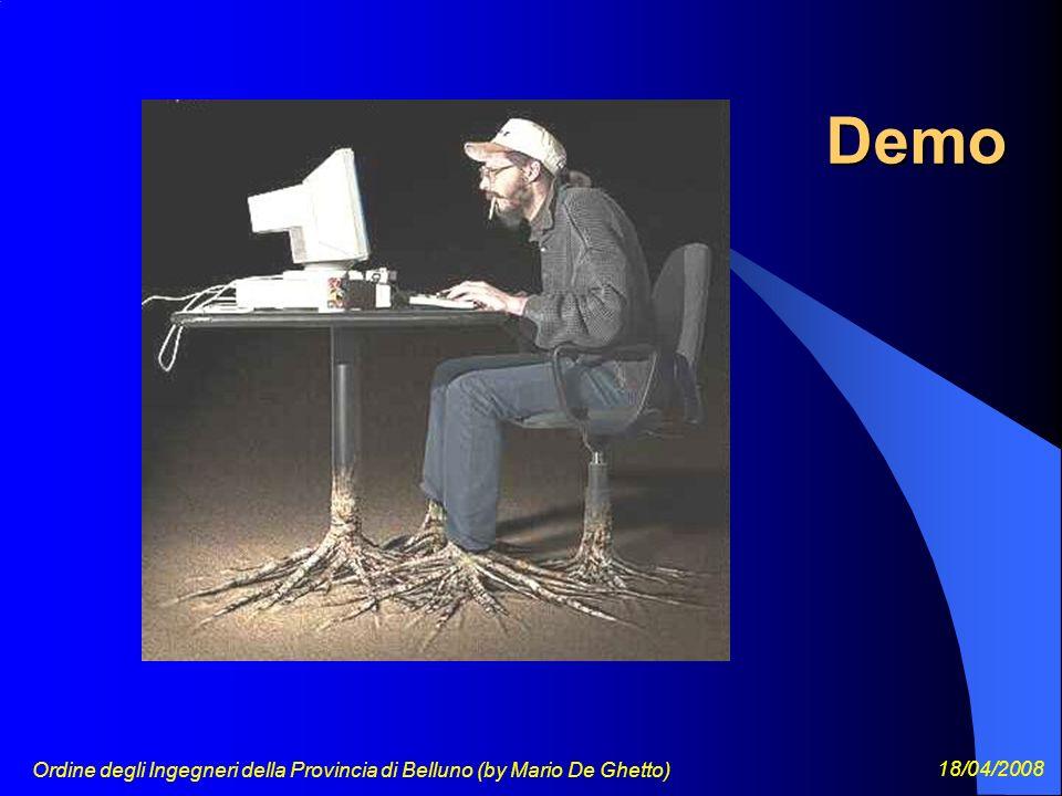 Ordine degli Ingegneri della Provincia di Belluno (by Mario De Ghetto) 18/04/2008 Demo