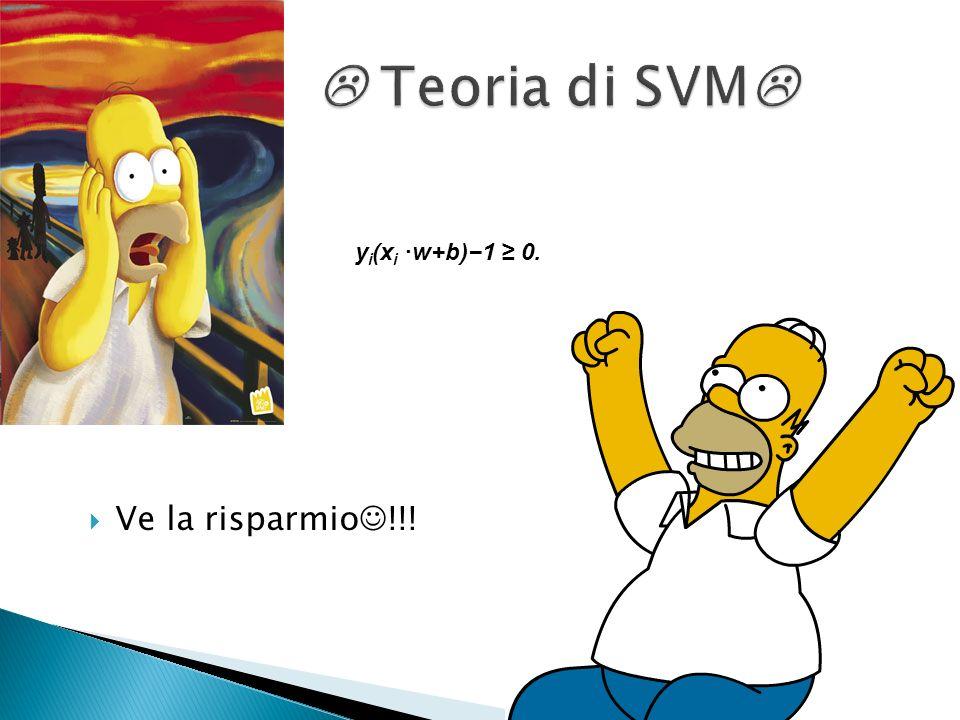 Ci sono due parametri per la SVM C è la costante delle risposte sbagliate g rappresenta il kernel e determina il tasso di decadimento esponenziale int