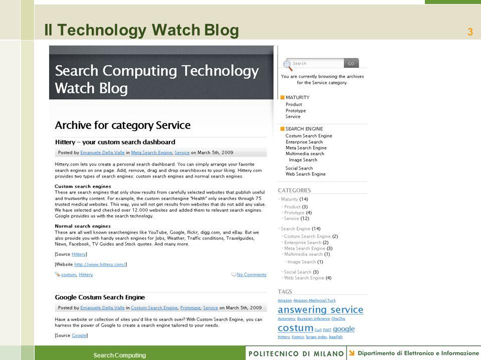 Search Computing Il Technology Watch Blog 3