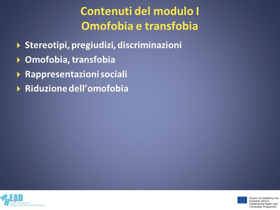 Esercitazione Che cosa sono e in che cosa differiscono stereotipi, pregiudizi e discriminazioni?