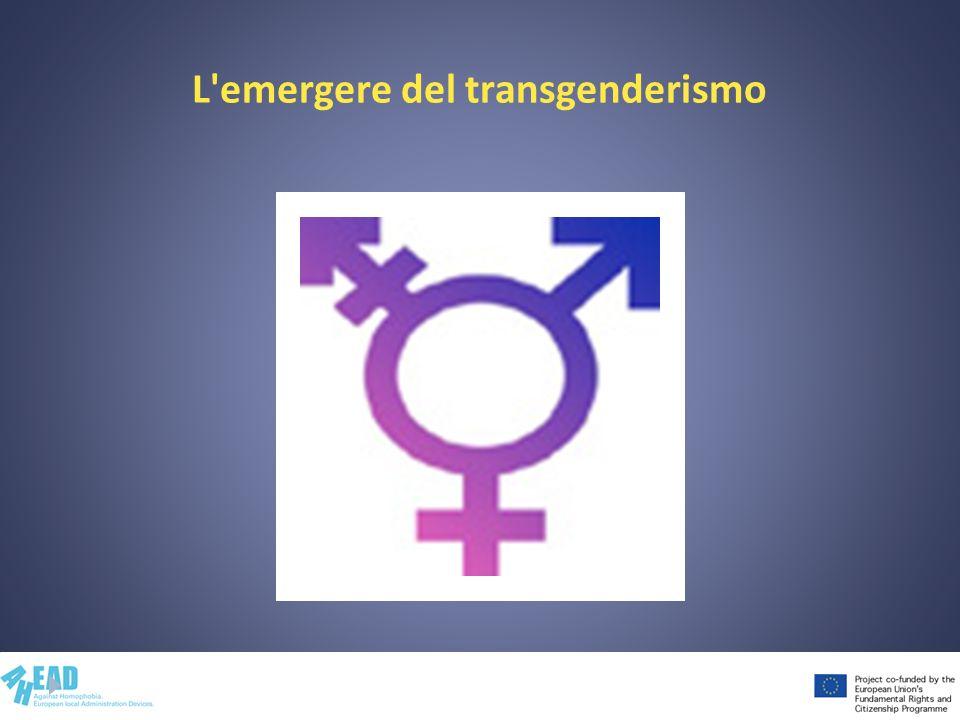 L'emergere del transgenderismo
