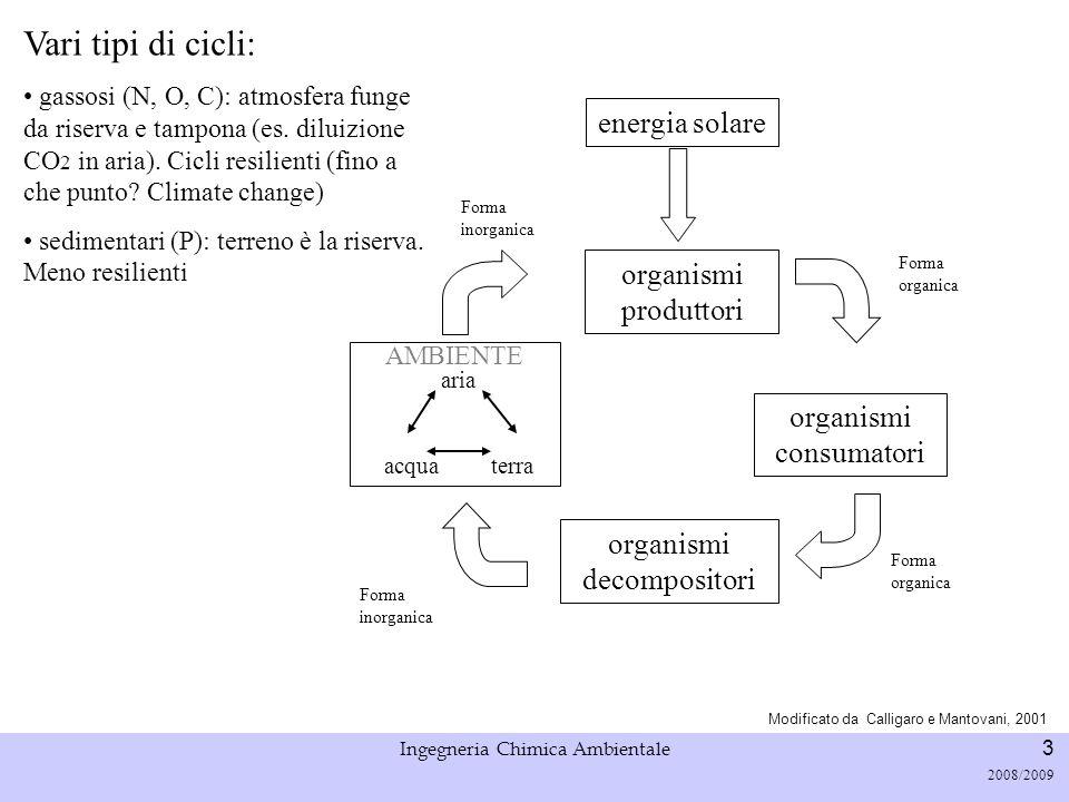 Università di Padova LASA – Laboratorio di Analisi dei Sistemi ambientali Ingegneria Chimica Ambientale 3 2008/2009 Modificato da Calligaro e Mantovan