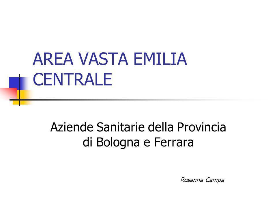 AREA VASTA EMILIA CENTRALE Aziende Sanitarie della Provincia di Bologna e Ferrara Rosanna Campa