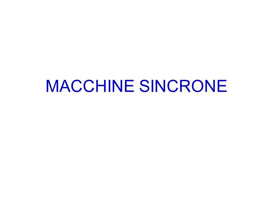 MACCHINE SINCRONE