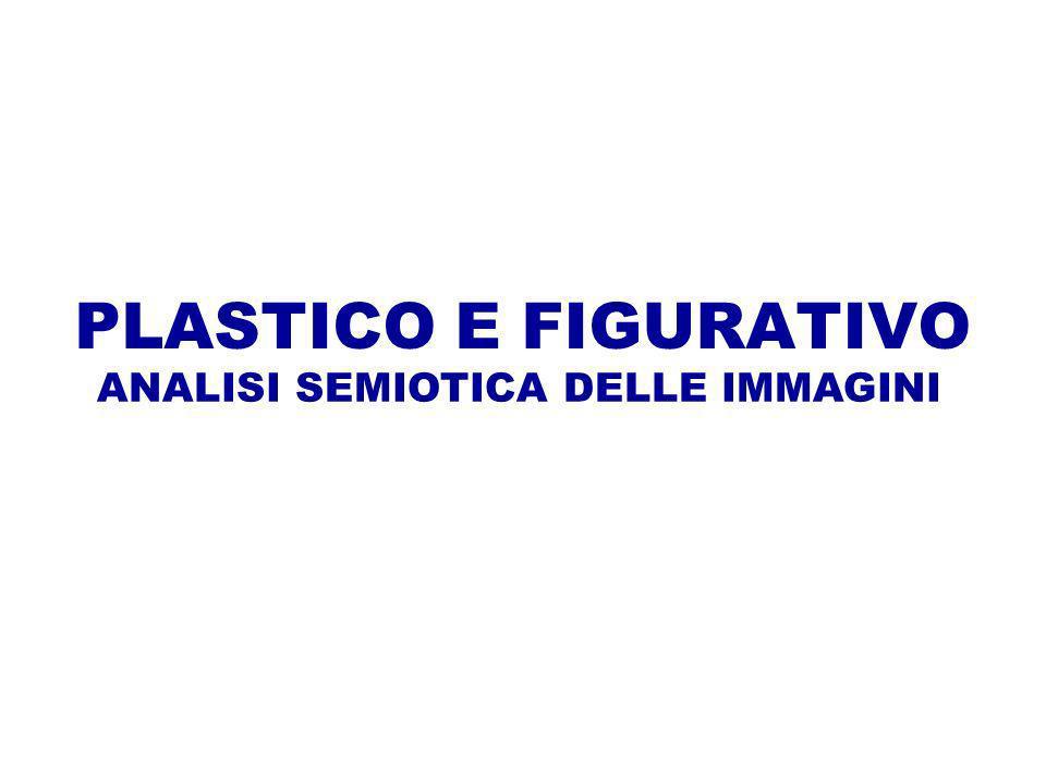 PLASTICO E FIGURATIVO ANALISI SEMIOTICA DELLE IMMAGINI
