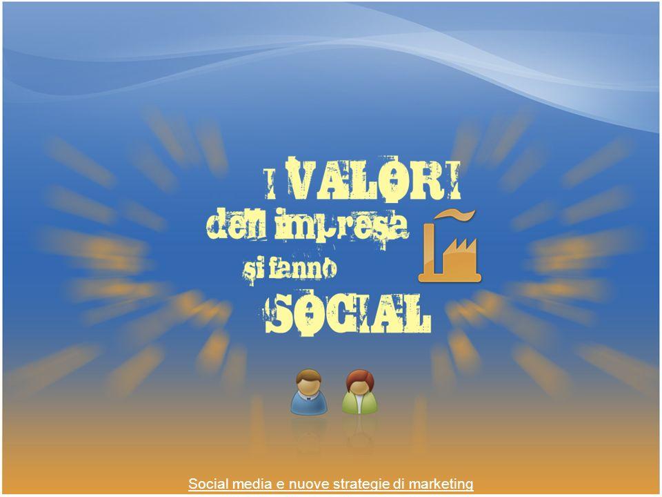 Social media e nuove strategie di marketing