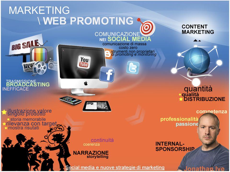 SOCIAL MEDIA \ DEFINIZIONE «Sono un gruppo di applicazioni internet basate sui presupposti ideologici e tecnologici del Web 2.0» Social media e nuove strategie di marketing Andrea Kaplan Michael Haenlein