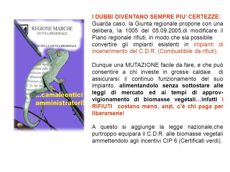 Coordinamento dei Comitati di difesa delle valli del Metauro, Cesano e Candigliano.