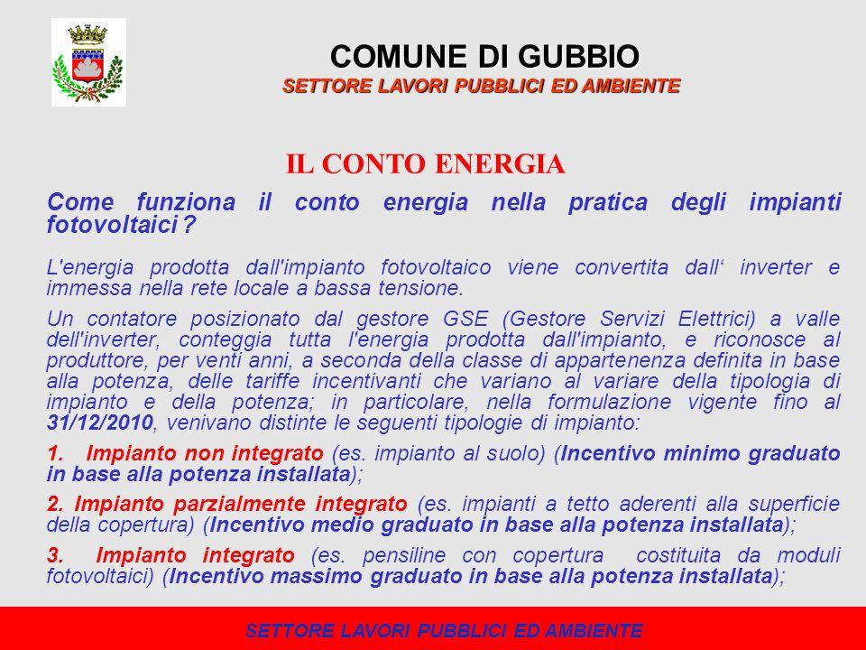 Il 24 agosto 2010 è stato pubblicato sulla Gazzetta Ufficiale il decreto Conto Energia 2011.