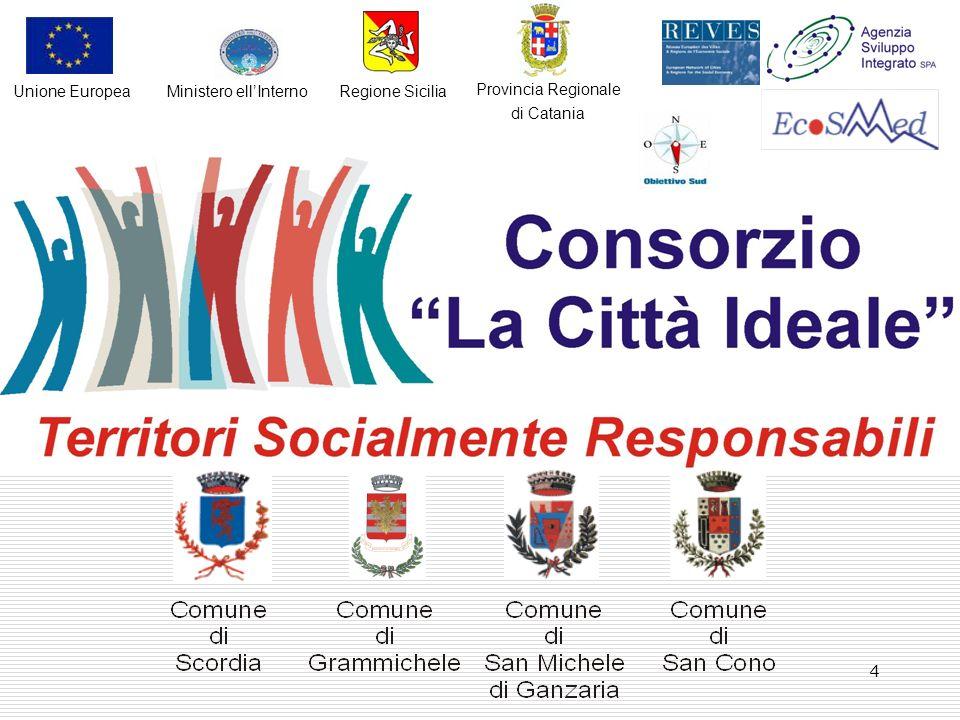 4 Provincia Regionale di Catania Regione SiciliaMinistero ellInternoUnione Europea