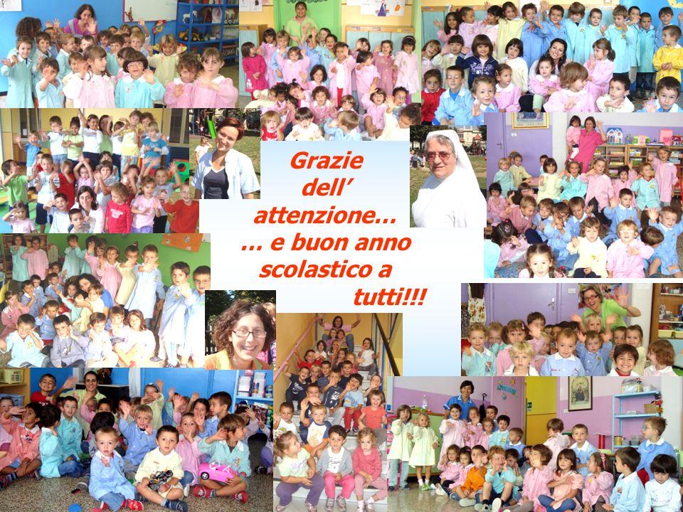 Grazie dell attenzione… … e buon anno scolastico a tutti!!!