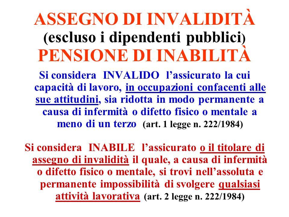 REGIME CONTRIBUTIVO (art.1, comma 19, 20 e 7, legge n.