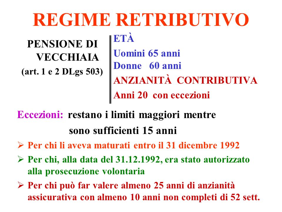 la pensione complementare Obbligo devoluzione TFR Conseguenze: nessuna libertà di scelta Alternativa: silenzio - assenso