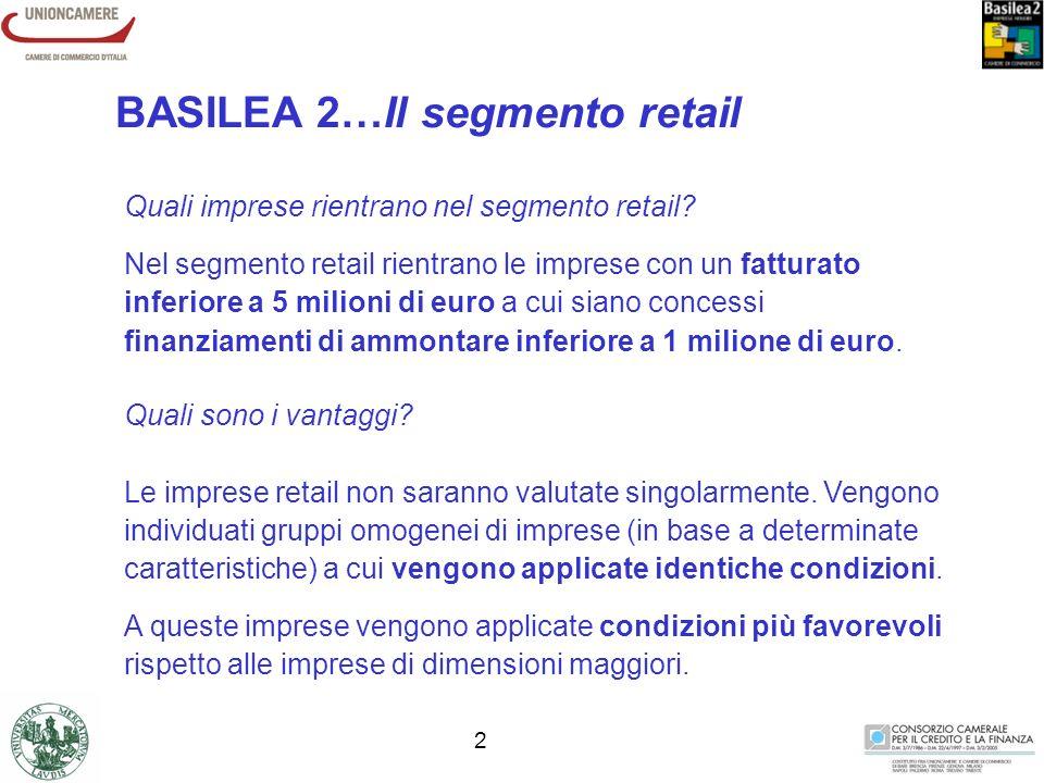 1 Basilea 2 cambia le regole del gioco. Cosa comporterà per le imprese.