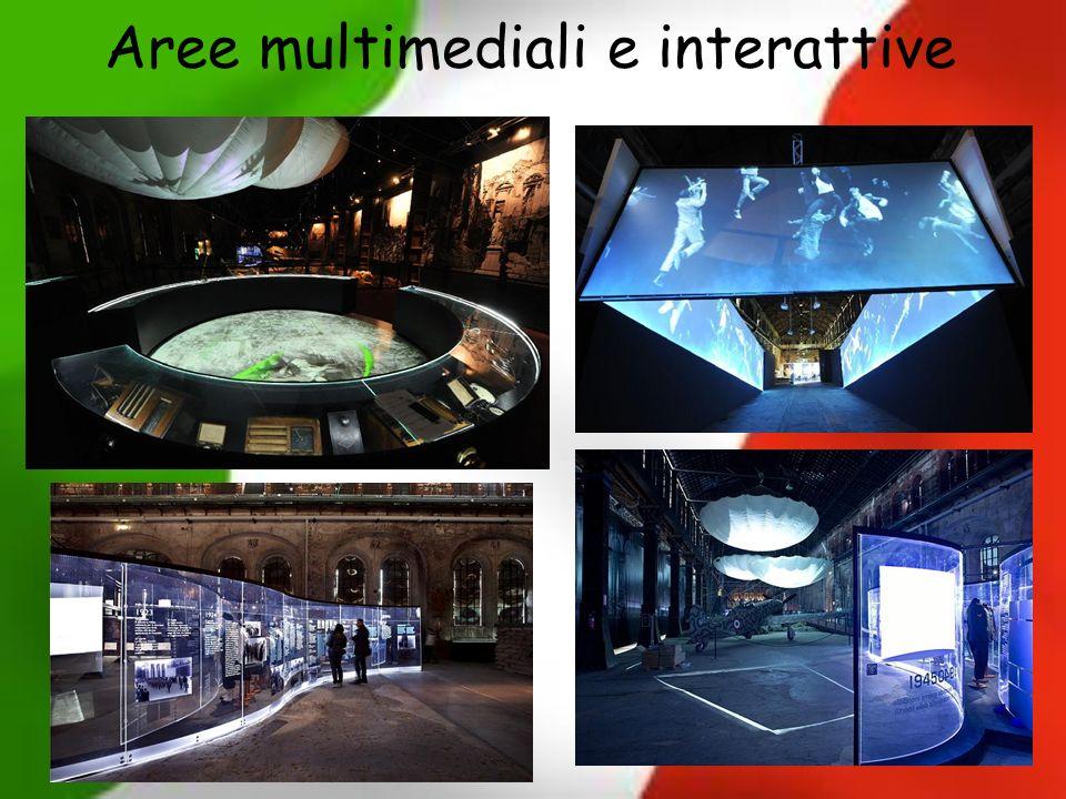 Aree multimediali e interattive