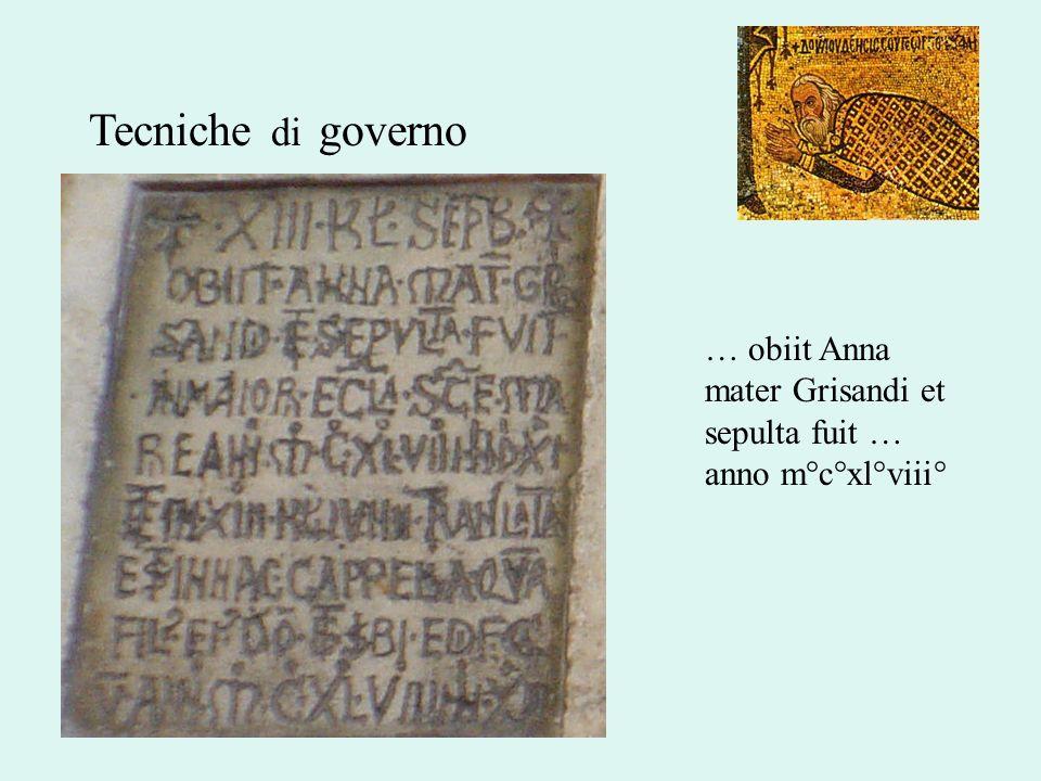 … obiit Anna mater Grisandi et sepulta fuit … anno m°c°xl°viii°