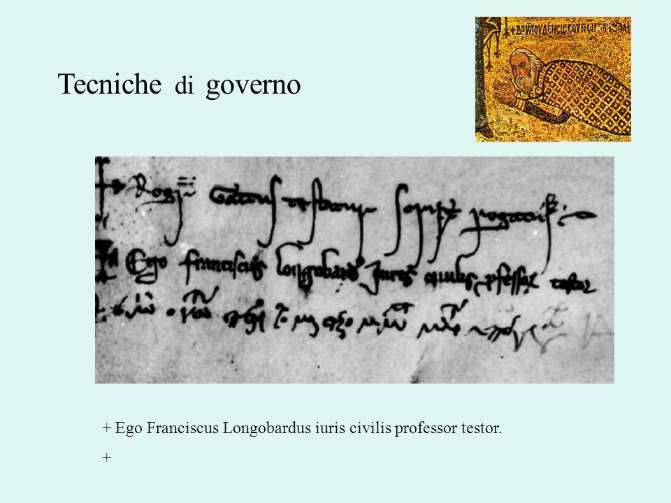 + Ego Franciscus Longobardus iuris civilis professor testor. +