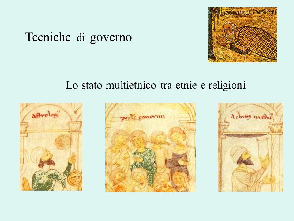 Tecniche di governo Lo stato multietnico tra etnie e religioni
