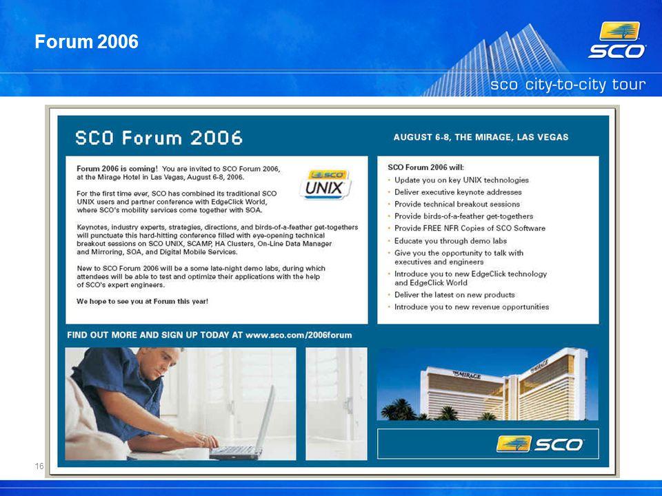 16 Forum 2006