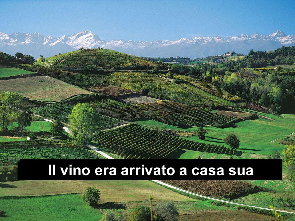 Proprio sulla collina scelta dallo Spirito Il vino era arrivato a casa sua