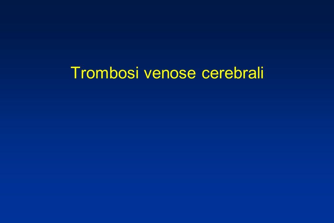 Trombosi venose cerebrali
