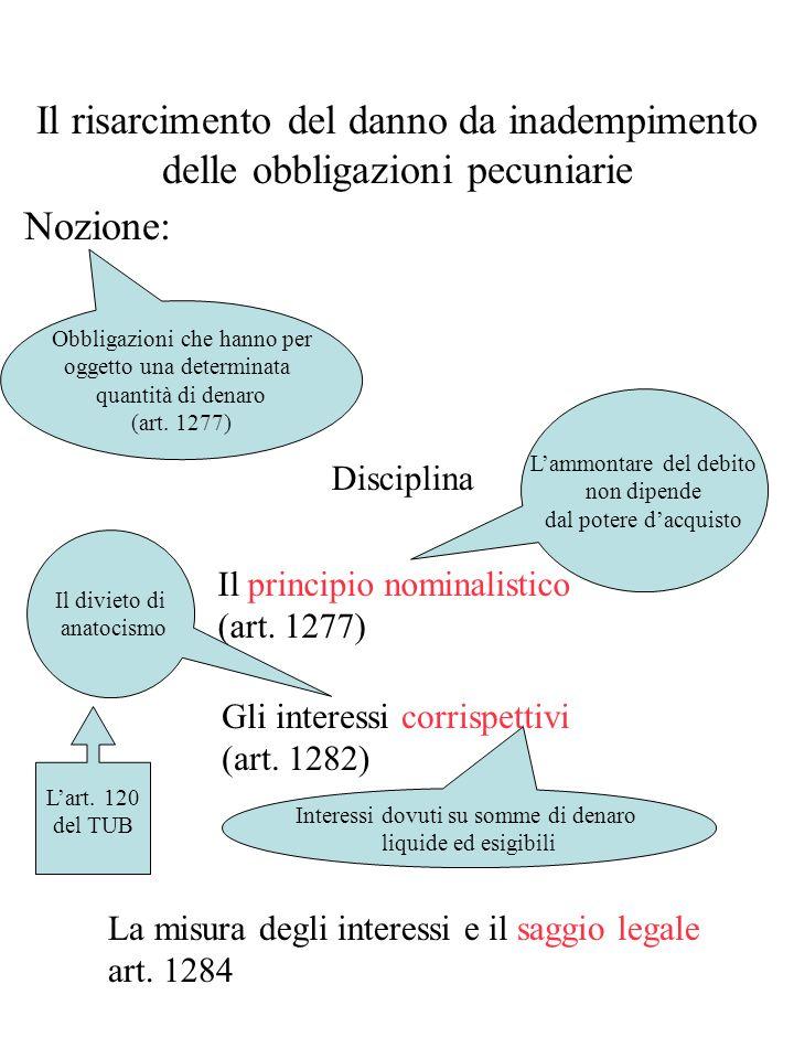 determinazione 4 Il concorso del creditore (art. 1227, 1° comma) Diminuzione del risarcimento proporzionale alla gravità della colpa e allentità delle