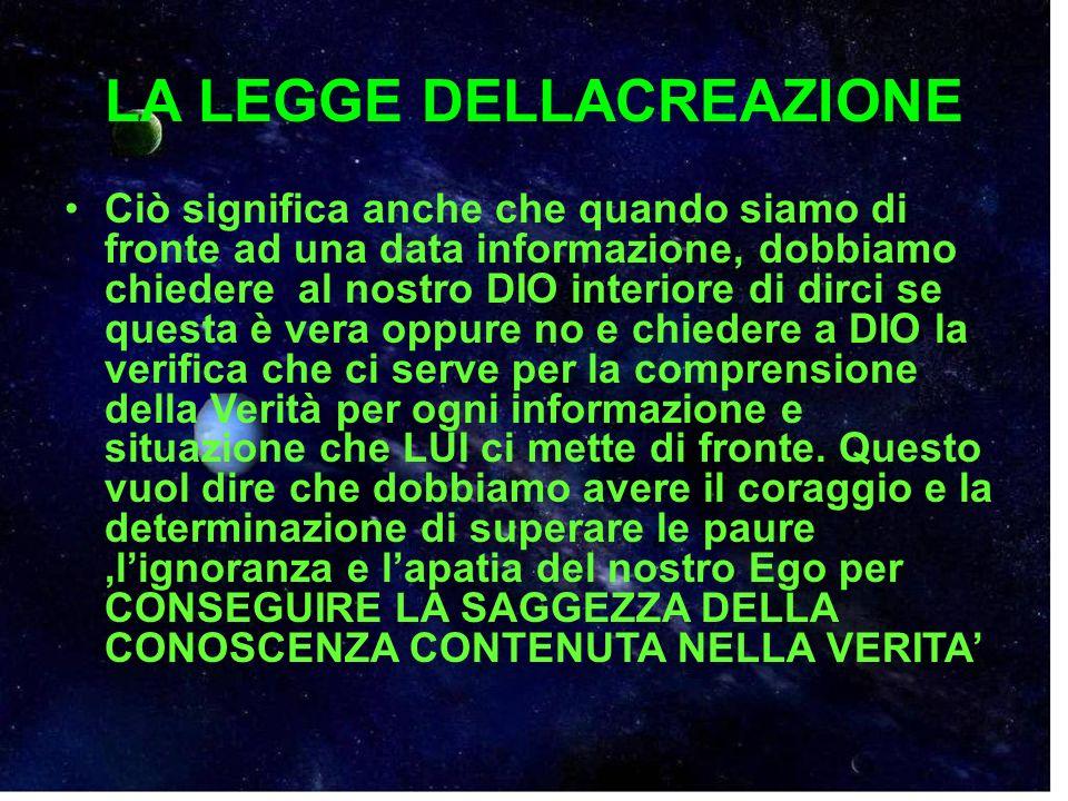 LE LEGGI DI DIO La Regola dORO.