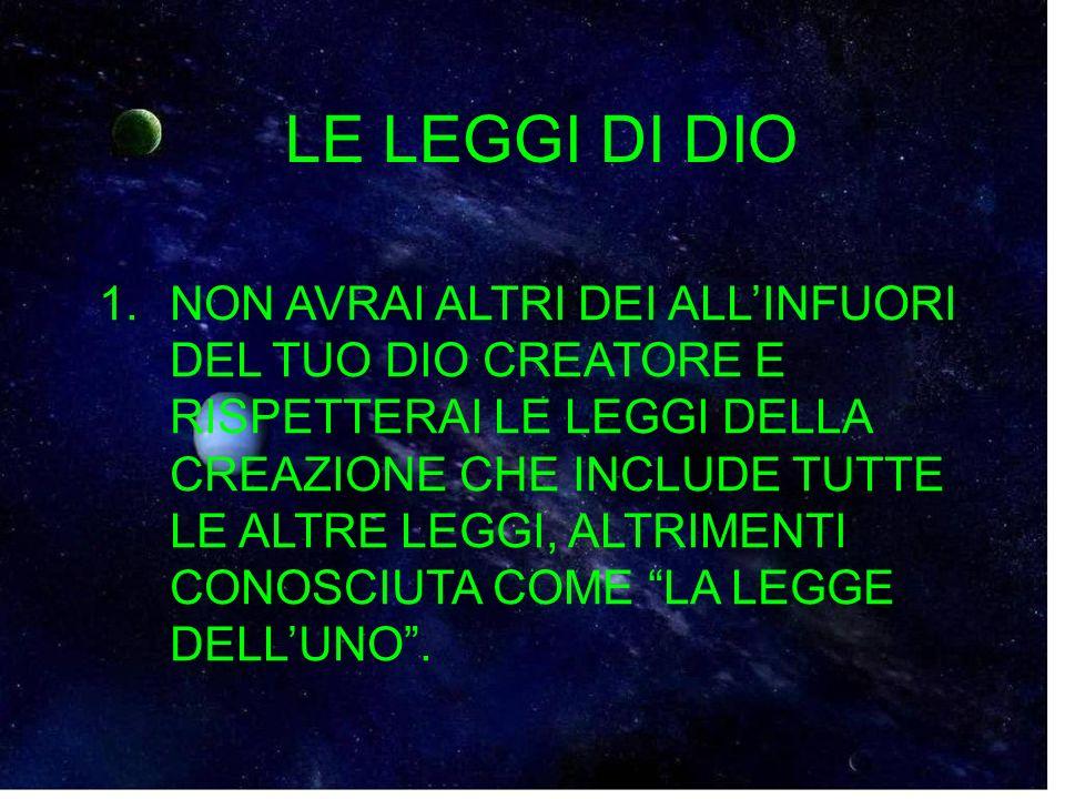 LE LEGGI DI DIO 5.RICORDATI DI GLORIFICARE IL GIORNO DI DIO.