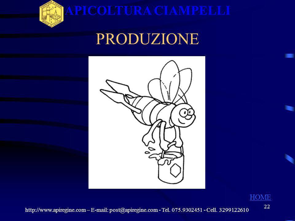 21 AGRESSIVITA http://www.apiregine.com – E-mail: post@apiregine.com - Tel. 075.9302451 - Cell. 3299122610 APICOLTURA CIAMPELLI HOME