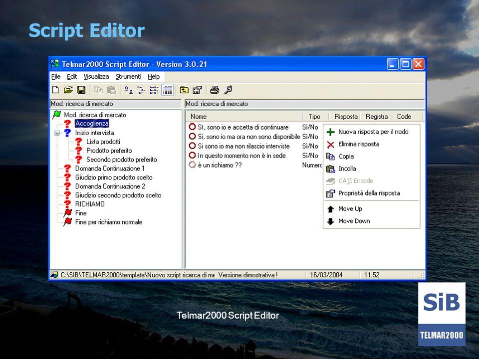 Script Editor Telmar2000 Script Editor
