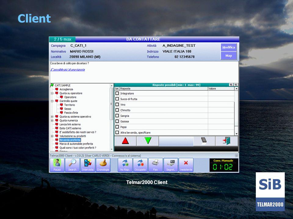 Client Telmar2000 Client