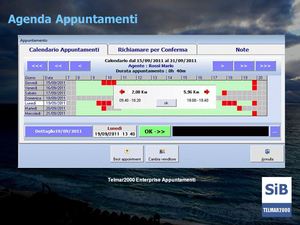 Agenda Appuntamenti Telmar2000 Enterprise Appuntamenti