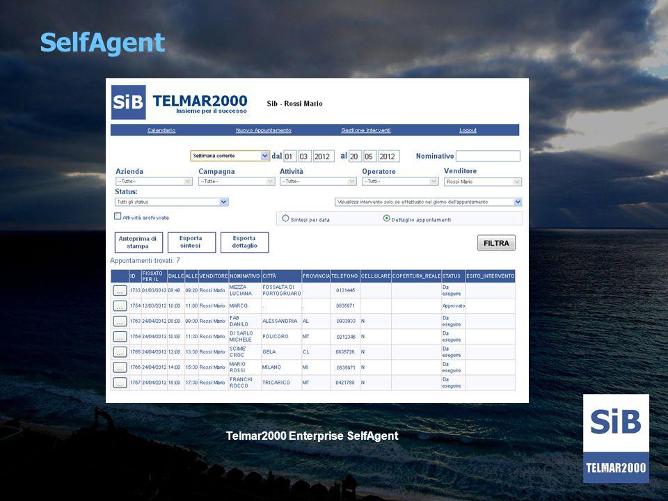 SelfAgent Telmar2000 Enterprise SelfAgent