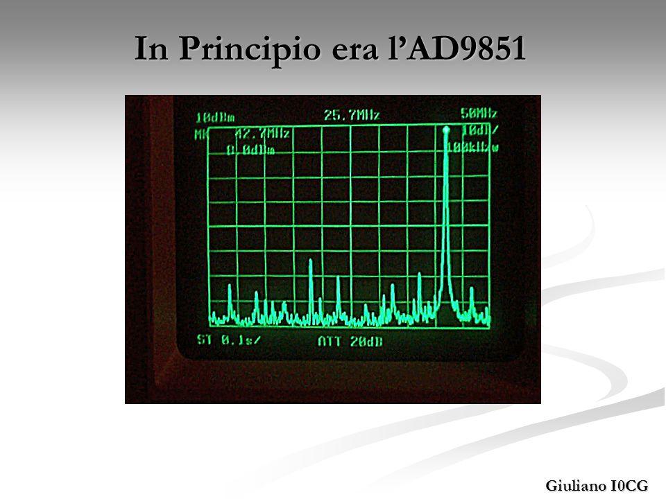 Giuliano I0CG Non era usabile come generatore diretto.