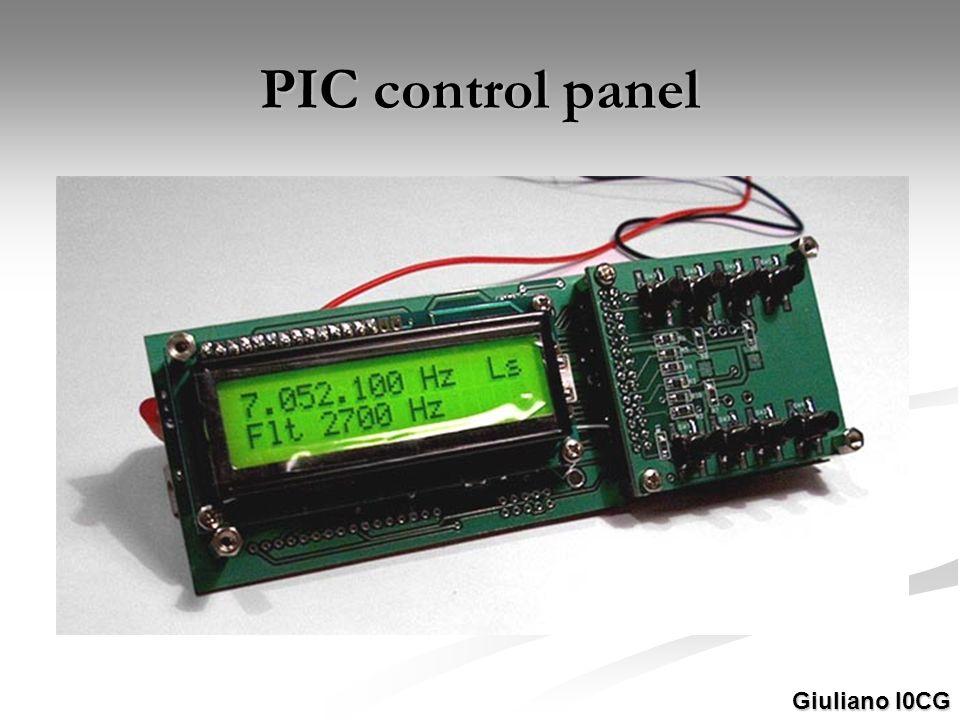 PIC control panel Giuliano I0CG