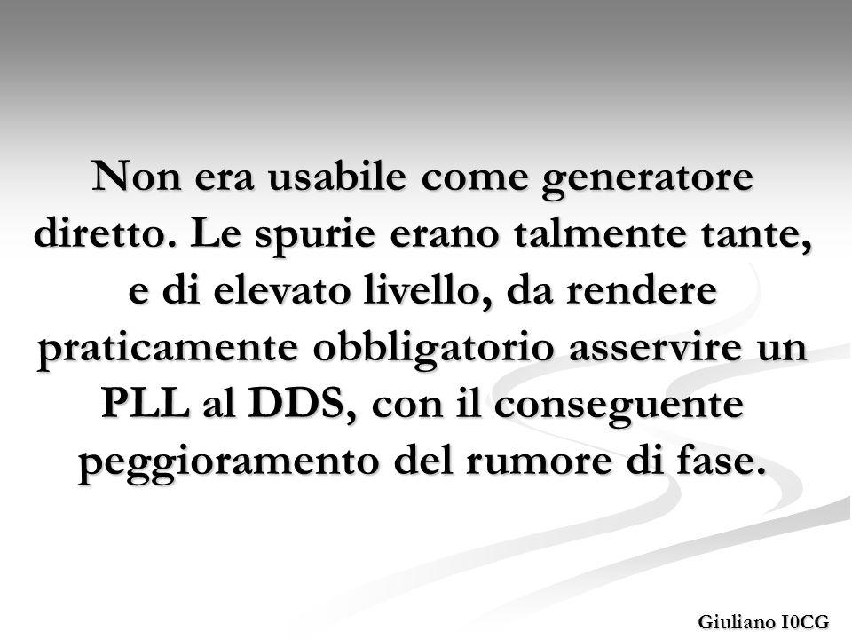 Comparazione rumore di fase tra diversi DDS Giuliano I0CG