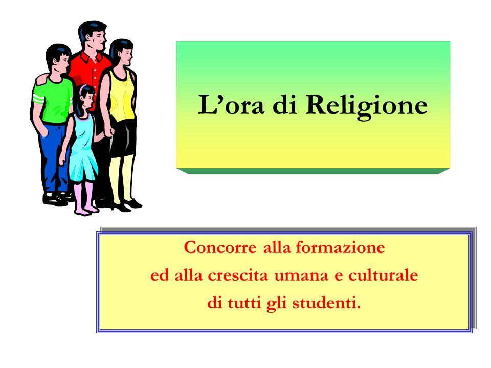 LA GRANDE NOVITA DELLORA DI RELIGIONE LA GRANDE NOVITA DELLORA DI RELIGIONE Lora di religione si è già attrezzata per essere una materia inserita a pieno titolo nella scuola dellautonomia.