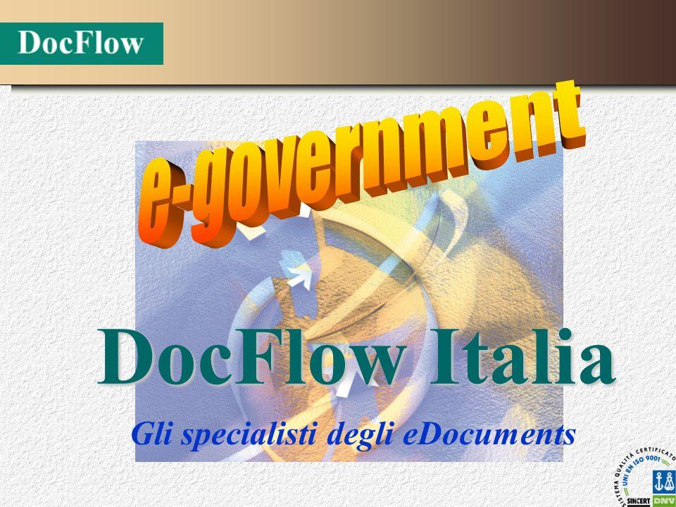 Gli specialisti degli eDocuments DocFlow Italia