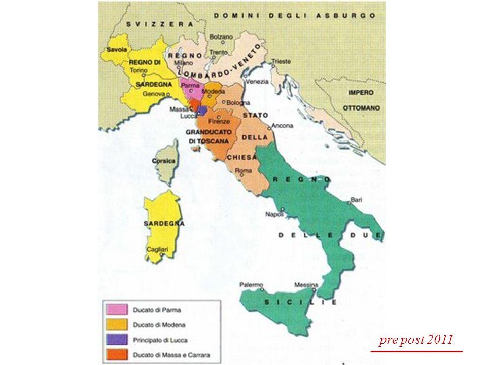 LUNITA DITALIA Il 17 marzo 1861 viene proclamato il Regno dItalia con a capo re Vittorio Emanuele II.