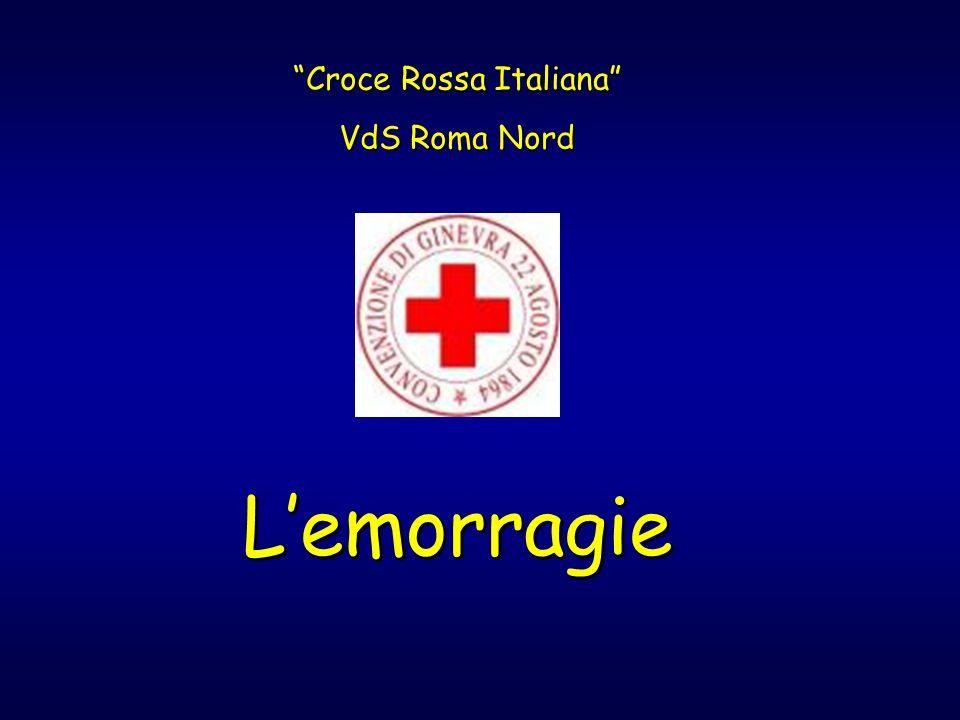 Lemorragie Croce Rossa Italiana VdS Roma Nord