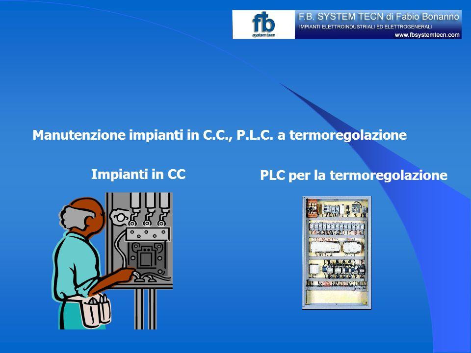 Programmazione sistemi controllo di velocità in C.C. e C.A. PLC CONTROL ROOM SCADA